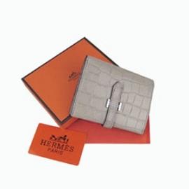 財布 コピー エルメスブランド 二つ折り短財布 ベアン HR12672