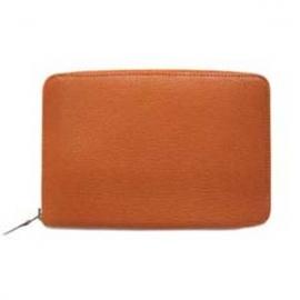財布 コピー エルメスアザップ シェーブルミゾールオレンジ Her-43