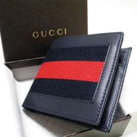 グッチコピー 二つ折り財布 カーフ×キャンバス 245768 H17OG 8497