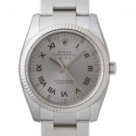 ロレックス コピー腕時計 エアーキング グレープリントローマ114234