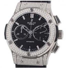 コピー腕時計 ウブロ ブラン クラシックフュージョン クロノグラフ ダイヤモンド 521.NX.1170.LR.1704