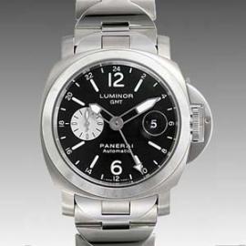 パネライコピー 時計 ルミノールGMT PAM00161