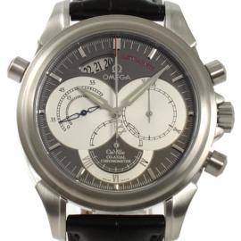コピー腕時計 オメガ デビル コーアクシャル 4848.40.31 クロノグラフ メンズ