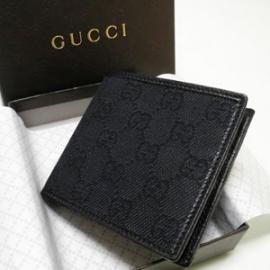 グッチコピー 二つ折り財布 GGキャンバス×型押しカーフ 150404 F5DIR 1160