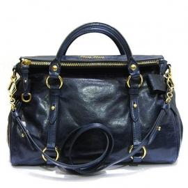偽物ブランド  ミュウミュウ バッグ ショルダー ハンド 2way ブルー bluette rt0515-x72