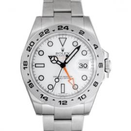 ロレックス コピー腕時計 エクスプローラーII 新型 ホワイト 216570