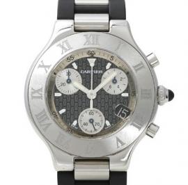 コピー腕時計 カルティエ 21 クロノスカフ 21 CHRONOSCAPH W10125U2