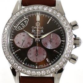 コピー腕時計 オメガ デビル コーアクシャル クロノメーター 4877.60.37 レディース