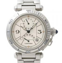 コピー腕時計 カルティエ パシャ38mmパワーリザーブ / Ref.W31037H3
