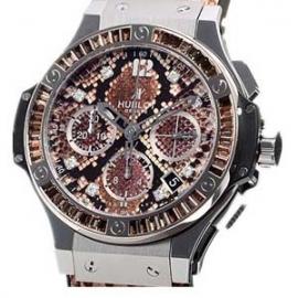 コピー腕時計 ウブロ ビッグバン ボアスチールブラウン 世界限定250本 341.SX.7917.PR.1979