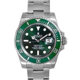 (ROLEX)高級時計 ブランドロレックス偽物 オイスターパーペチュアルサブマリーナデイト 116610LV