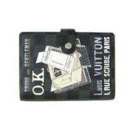 財布 コピー ルイヴィトンダミエグラフィット アジェンダPMプリント手帳カバー R21079