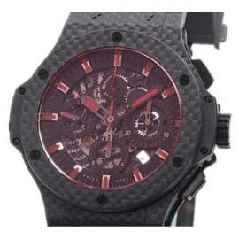 コピー腕時計 ウブロ N級品時計 ビッグバン アエロバン レッドマジックカーボン 311.QX.1134.RX
