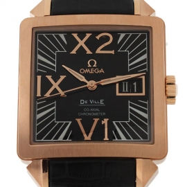 コピー腕時計 オメガ デビル コーアクシャル 7713.50.31 RG金無垢メンズ