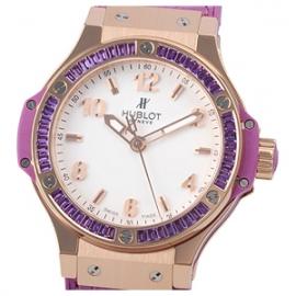 コピー腕時計 ウブロ ビッグバン ゴールド トゥッティフルッティ パープル361.PV.2010.LR.1905