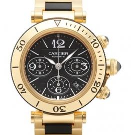 コピー腕時計 カルティエ パシャ シータイマー クロノグラフ Pasha Sea-Timer Chronograph W301970M