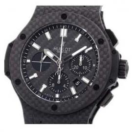 コピー腕時計 ウブロ時計 ビッグバン オールブラック カーボン 301.QX.1740.RX