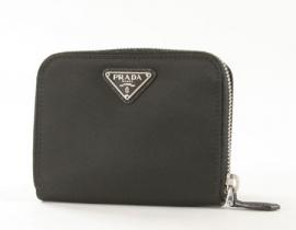 財布 コピー プラダ テスート 二つ折財布 ブラック 1M0605