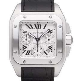 コピー腕時計 カルティエ サントス100クロノグラフSANTOS100 CHRONOGRAPH W20090X8