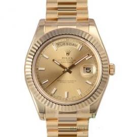 コピー腕時計 ロレックス オイスターパーペチュアル デイデイトII218238