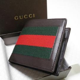 グッチコピー 二つ折り財布 カーフ×キャンバス 245768 H17OG 2061