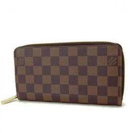 (LOUIS VUITTON)ルイヴィトン ブランド スーパーコピー 通販 激安 ダミエ長財布 ジッピーウォレット N60015