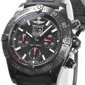 コピー腕時計 ブライトリング ブラックバード ブラックスチール M449B27RRB
