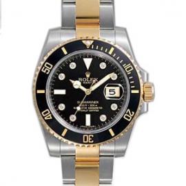 (ROLEX)ロレックス 腕時計 オイスターパーペチュアル サブマリーナデイト 116613GLN