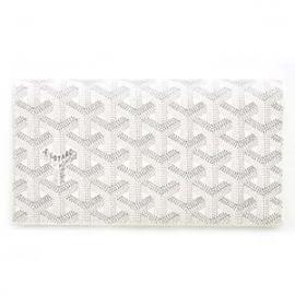 ゴヤールコピー二つ折り長財布 メンズ レディース ホワイト(白) APM20550