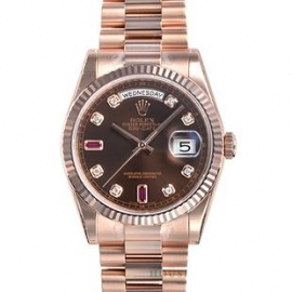 コピー腕時計 ロレックス オイスターパーペチュアル デイデイト118235A