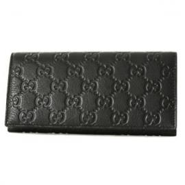 (GUCCI)グッチコピー財布 シマ 長財布 ブラック 146229A0V1R1000
