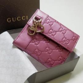 グッチコピー 二つ折り財布 型押しカーフ×カーフ 270029 AHB1G 5517