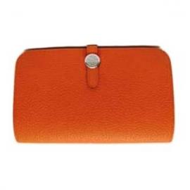 財布 コピー エルメスドゴンGMトゴ/オレンジ HER-039
