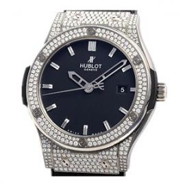 コピー腕時計 ウブロ クラシックフュージョン ジルコニウム パヴェ 542.ZX.1170.LR.1704