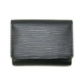 財布 コピー ルイヴィトンエピアンヴェロップカルト ドゥ ヴィジット ノワール M56582