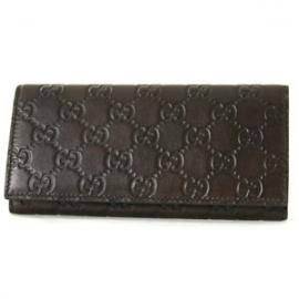 (GUCCI)グッチコピー財布 シマ 長財布 ダークブラウン 146229A0V1R2019