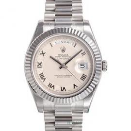 コピー腕時計 ロレックスオイスターパーペチュアル デイデイトII 218239
