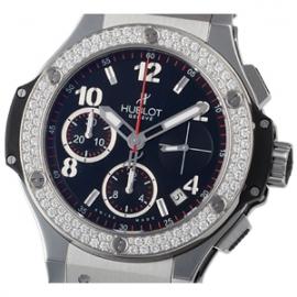 コピー腕時計 ウブロ ビッグバン スチールダイヤモンド342.SX.130.RX.114