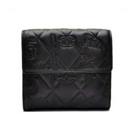 (CHANEL)シャネル コピー財布 二つ折り財布 アイコン A48053