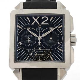 コピー腕時計 オメガ デビル クロノグラフメンズ 423.13.37.50.01.001