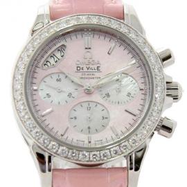 コピー腕時計 オメガ デビル コーアクシャル クロノグラフ 4877.74.34 レディース