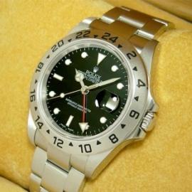 ロレックスコピー エクスプローラーⅡ16570 (ロレックス エクスプローラー) 黒 新品