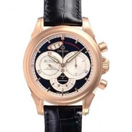 コピー腕時計 オメガ デビルコーアクシャル クロノスコープ4656.50.31