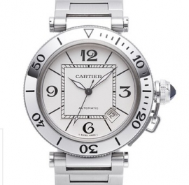 コピー腕時計 カルティエ パシャ シータイマー / W31080M7