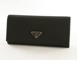 財布 コピー プラダ テスート 長財布 ブラック M201