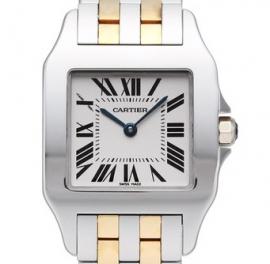 コピー腕時計 カルティエ サントス ドゥモワゼル LM Santos Demoiselle LM W25067Z6