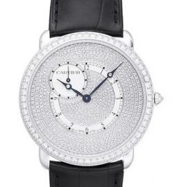 コピー腕時計 ロンド ルイ・カルティエ ダイアモンド コレクションRonde Louis Cartier 42mm WR007003
