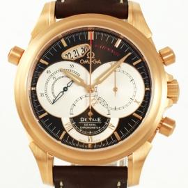 コピー腕時計 オメガ デビル 4648.60.37 ラトラパンテ RG金無垢 メンズ