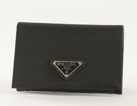 財布 コピー プラダ テスート 二つ折財布(札入れなし) ブラック 1M0504