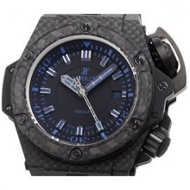 コピー腕時計 ウブロ オーシャノグラフィック 4000オールブラックブルー 731.QX.1190.GR.ABB12